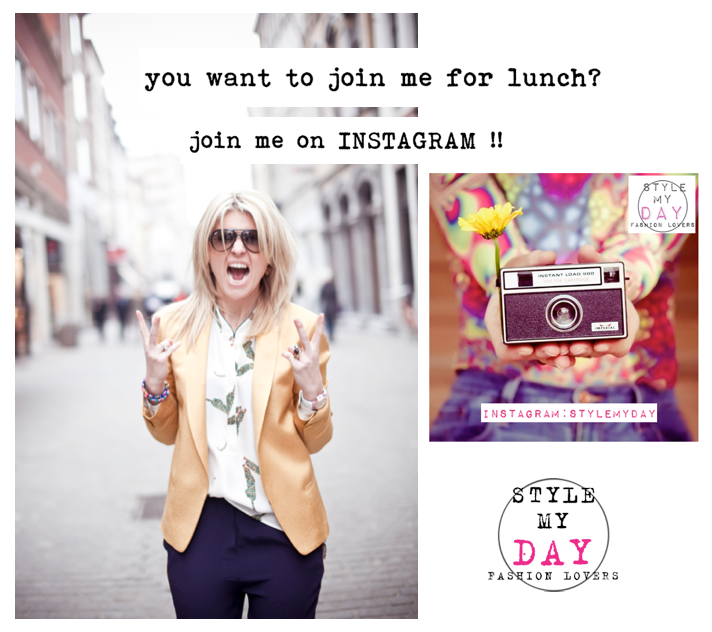 you want to join me for lunch? Join me on Instagram!
