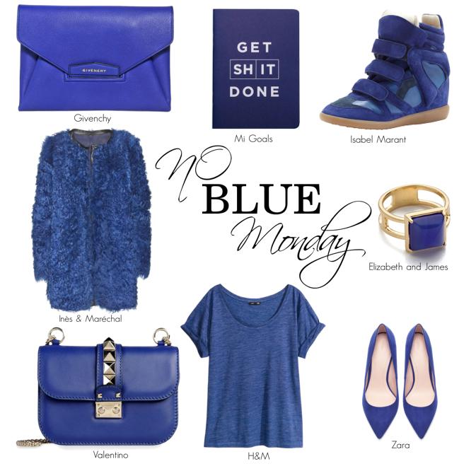 FASHIONABLE blue Monday!