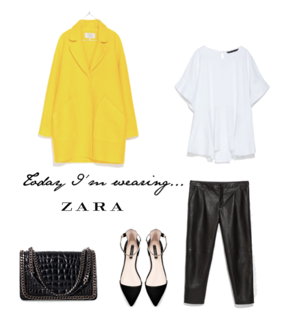 Today I'm wearing…. Zara
