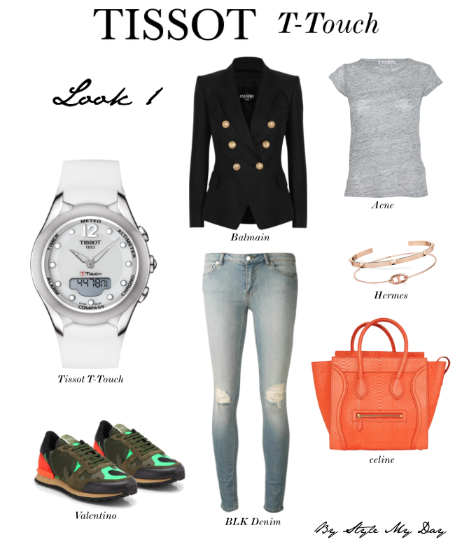 Style the Tissot T-Touch Lady Solar