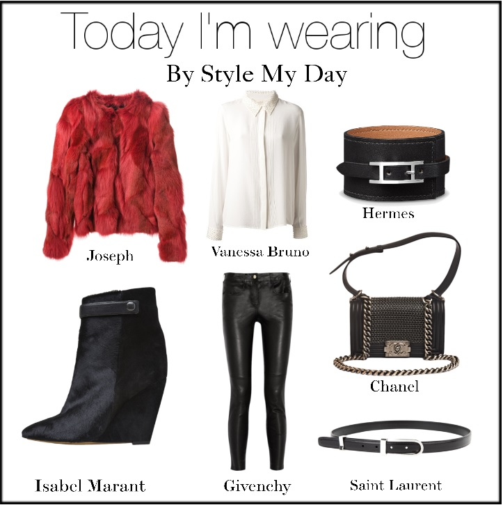 Today i'm wearing…