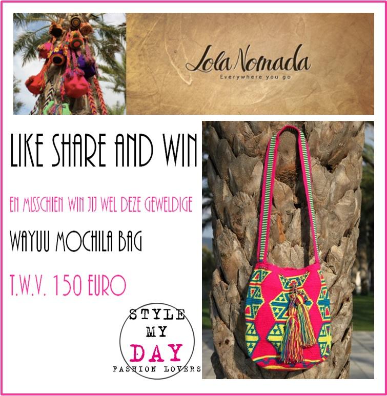 Win deze waanzinnige Wayuu Mochila bag!